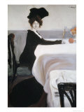 Breakfast Giclee Print by Leon Bakst