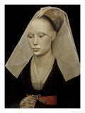 Damenbildnis Giclée-Druck von Rogier van der Weyden
