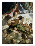 Trinity with Saints Ursula and Margaret Giclée-Druck von Antonio Maria Vianino