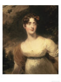 Portrait of Mylady Raglaun Giclee Print by Thomas Lawrence