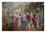 Tribute Money Giclee Print by  Masaccio