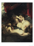Venus and Amor Giclee Print by Sir Joshua Reynolds