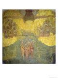 Triumph of Heaven Sketch Giclée-tryk af Kasimir Malevich