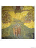 Triumph of Heaven Sketch Giclee Print by Kasimir Malevich
