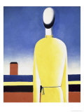 Complicated Anticipation Giclee Print by Kasimir Malevich
