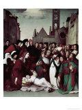 Saint Zenobio Giclee Print by Domenico Ghirlandaio