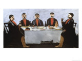 Feast of Five Princes, c.1906 Giclee Print by Niko Pirosmanashvili