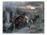 Village Firemen, c.1857 Giclee Print by Pierre Puvis de Chavannes