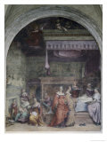 Nativity of Mary Giclee Print by  Andrea del Sarto