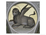 Saint Mark as a Lion Giclee Print by Giusto De' Menabuoi