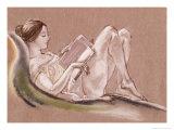 Reclining Woman Giclee Print by Arthur Bowen Davies