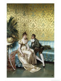 The Proposal Giclee Print by Joseph Frederic Soulacroix