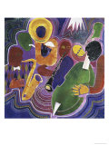 Quartet Giclee Print by Gil Mayers
