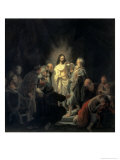 Disbelief of Apostle Thomas Giclee Print by  Rembrandt van Rijn