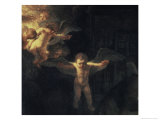 Holy Family, c.1645 Giclee Print by  Rembrandt van Rijn