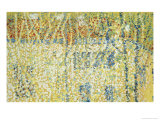 Landscape, c.1906 Premium Giclee Print by Kasimir Malevich