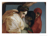Detail of The Descent from the Cross Giclee Print by Rosso Fiorentino (Battista di Jacopo)
