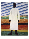 The Farmer Giclee Print by Kasimir Malevich