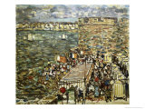 Ramparts, St. Malo Giclee Print by Maurice Brazil Prendergast