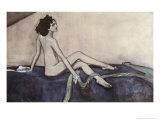 Ida Rubenstein, c.1910 Giclee Print by Valentin Aleksandrovich Serov