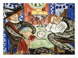 In a Cafe, c.1910 Giclee Print by Olga Vladimirovna Rozanova