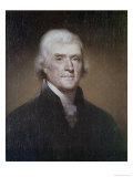 Thomas Jefferson Giclee Print by Raphael Peale