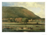 Hudson River Valley Giclee Print by George Inness