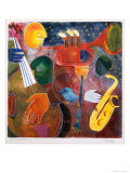 Jazz Messenger I Premium Giclee Print by Gil Mayers