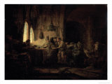 Parable of the Laborers in the Vineyard Giclee Print by  Rembrandt van Rijn