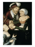Procuress, c.1530 Giclee Print by Lucas Cranach the Elder
