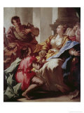 Sophonisba Receiving the Cup of Poison Giclee Print by Giovanni Antonio Pellegrini