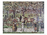Central Park in 1903 Giclee Print by Maurice Brazil Prendergast