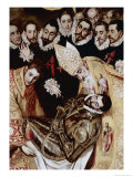 Burial of Count Orgaz Giclee Print by  El Greco