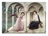 Annunciation, c.1438-1445 Giclee Print by  Fra Angelico