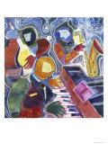 Jazz Messenger II Giclee Print by Gil Mayers