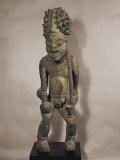 Royal Ancestor Figure, Cameroon, Bamileke Photographic Print