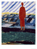 Red Figure, c.1928 Giclee Print by Kasimir Malevich