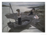 The Poor Fisherman Giclee Print by Pierre Puvis de Chavannes