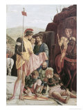Detail of the Crucifixion Giclee Print by Andrea Mantegna