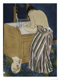 Woman Bathing Giclee Print by Mary Cassatt