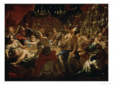Balthazar&#39;s Festival Giclee Print by Pietro Dandini