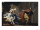 Joseph and Potiphar's Wife Giclee Print by Filippo Falciatore