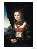 Portrait of a Lady Premium Giclee Print by Lucas Cranach the Elder