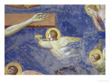 Detail of Angels Crucifixion Gicl&#233;e-Druck von Giotto di Bondone 