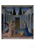 The Annunciation, Story of the Life of Christ Giclee Print by  Fra Angelico