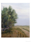 Country Lane Giclee Print by William Merritt Chase