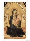 Mary's Prayer List Giclée-tryk af Lorenzo Monaco