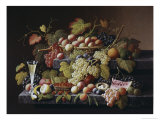 Bountiful Harvest Giclee Print by Severin Roesen