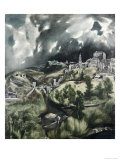 View of Toledo Giclee Print by El Greco