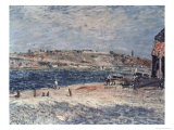 Riverbank at Saint Mammes Giclee Print by Alfred Sisley